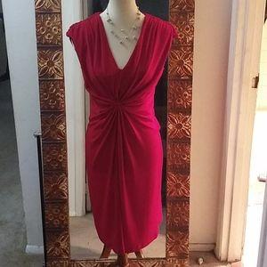 Calvin Klein Red Dress Size 4